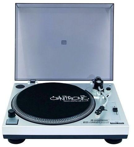 Omnitronic BD-1380 silver radio, radiopulksteņi