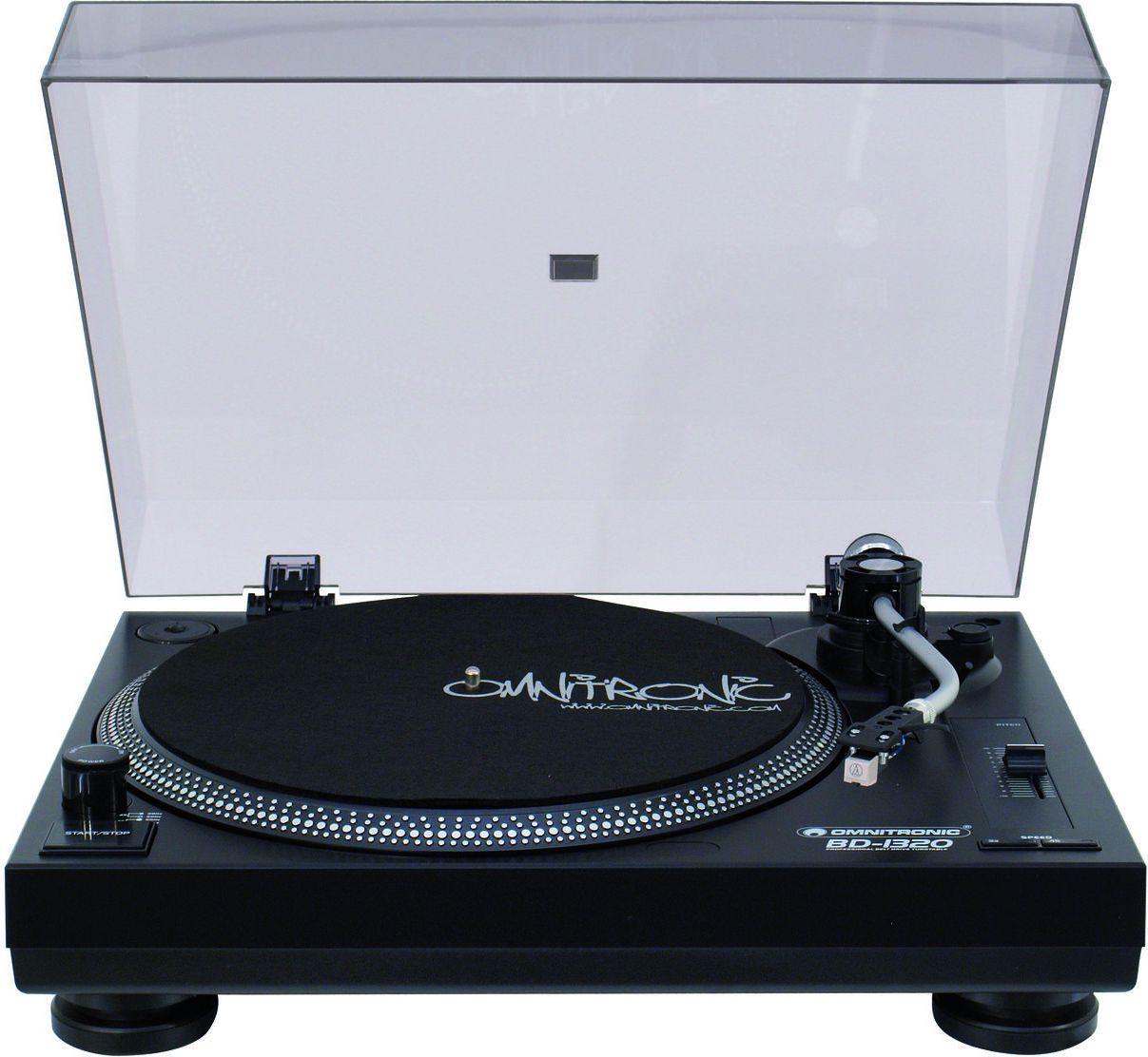 Omnitronic BD-1320 black radio, radiopulksteņi