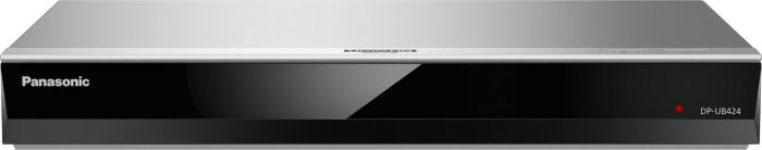 Odtwarzacz BLU-RAY Panasonic DP-UB424, Blu-ray-Player - silver DP-UB424EG-S dvd multimēdiju atskaņotājs