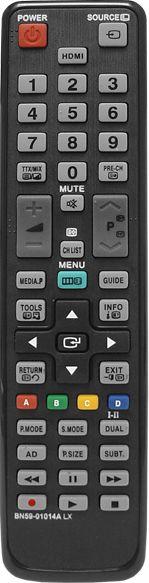 HQ LXP215 Universāla - pilnu funkciju analoga tālvadības TV pults Samsung zīmola televizoriem BN59-01014A Melna TV aksesuāri
