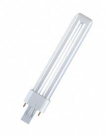 Osram Dulux S G23 11W compact fluorescent lamp (4050300010618) apgaismes ķermenis