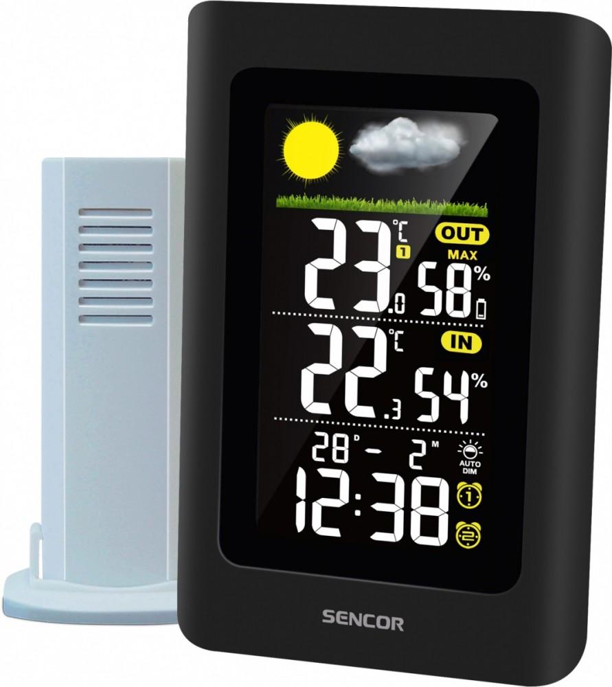 SENCOR SWS 4660 Weather station barometrs, termometrs