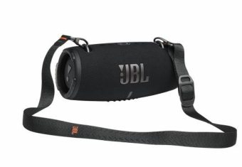 JBL XTREME 3, portable speaker with Bluetooth, built-in battery, IP67, Partyboost and strap, Black pārnēsājamais skaļrunis