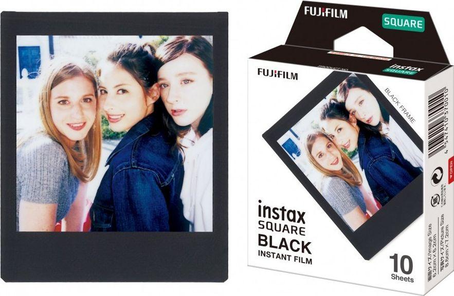 Fujifilm Instax Square Instant Film Black Quantity 10, Glossy 4547410370010 portatīvā datora dzesētājs, paliknis