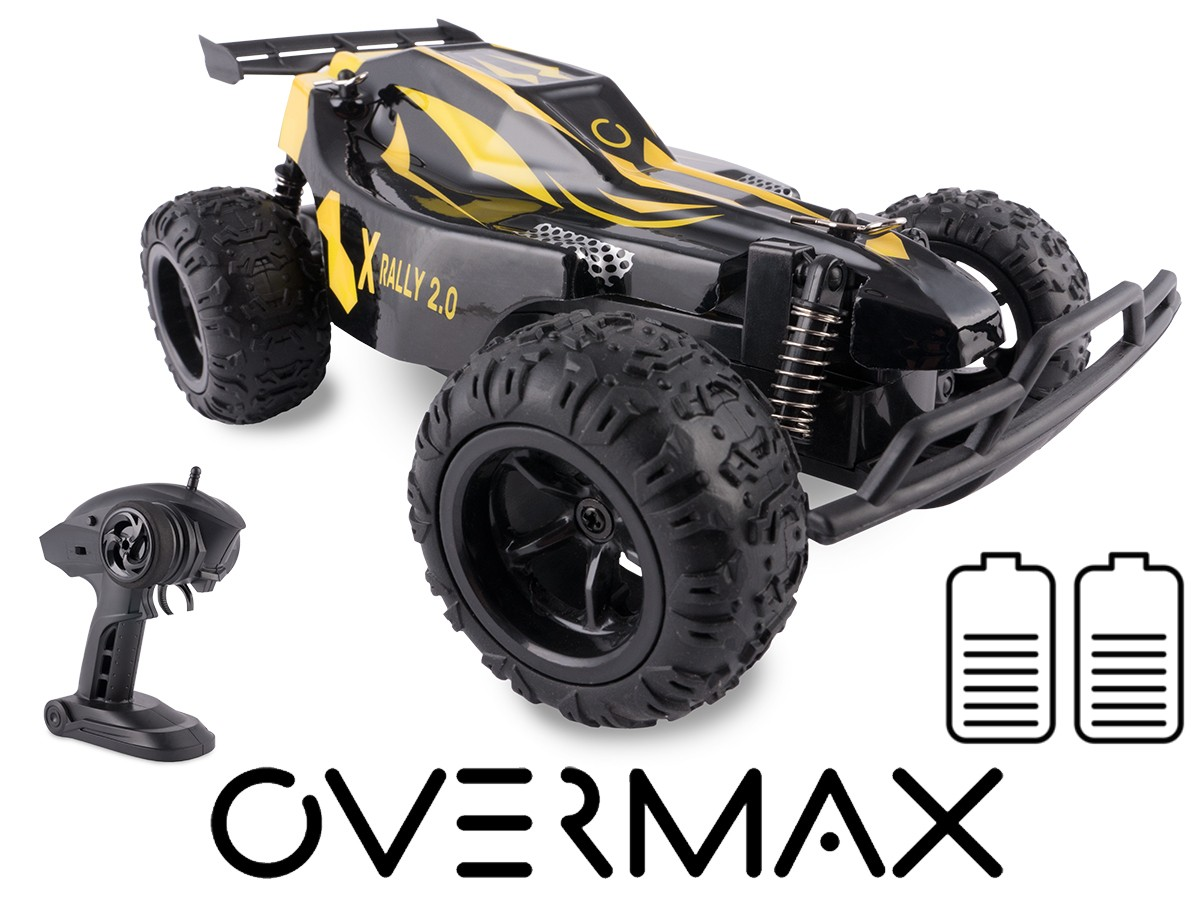 OVERMAX X-RALLY RC, 25km / h Radiovadāmā rotaļlieta