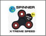 Spinner black Fidget spinner