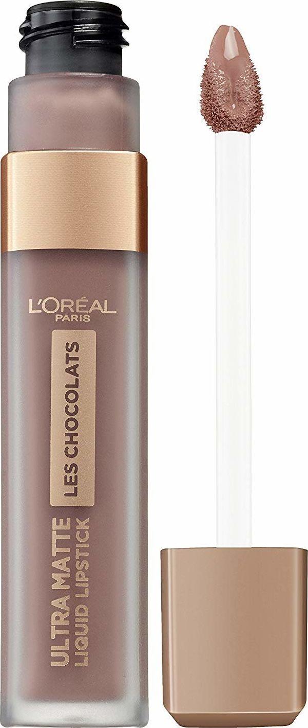 L'Oreal Paris Lipstick Les Chocolats Ultra Matte nr 852 Box of Chocolates 7.6 ml Lūpu krāsas, zīmulis