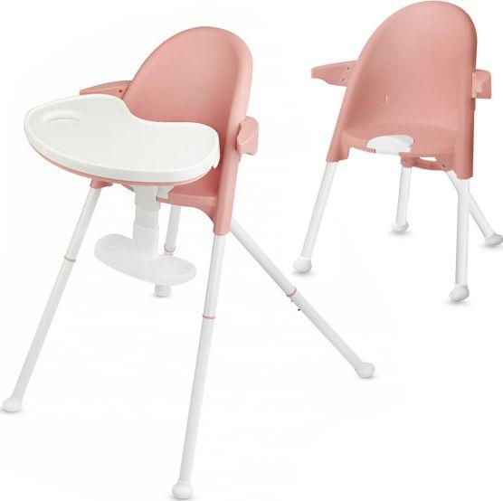KinderKraft Krzeselko do karmienia PINI pink KKKPINIPNK0000 bērnu barošanas krēsls