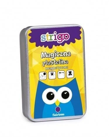 Strigo Magic Plasticine - Magnetic Violet (263143) materiāli konstruktoriem