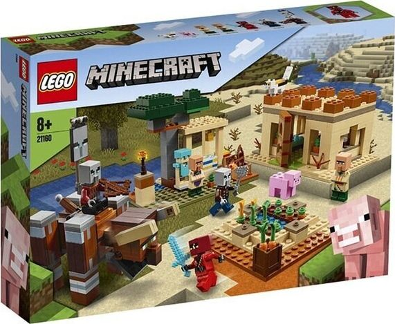 LEGO Minecraft 21160 The Illager Raid LEGO konstruktors