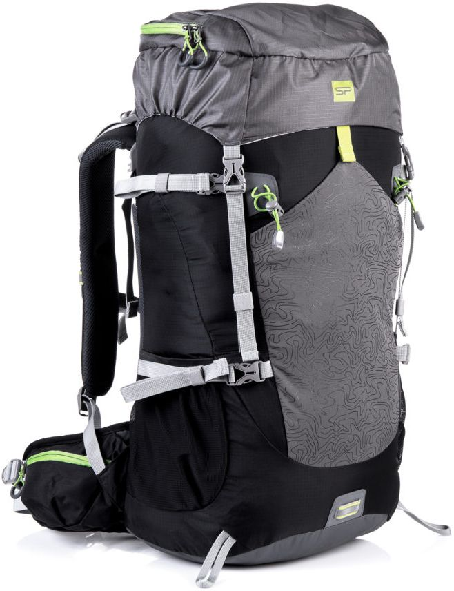 Spokey Lukla 50L tourist backpack black-gray