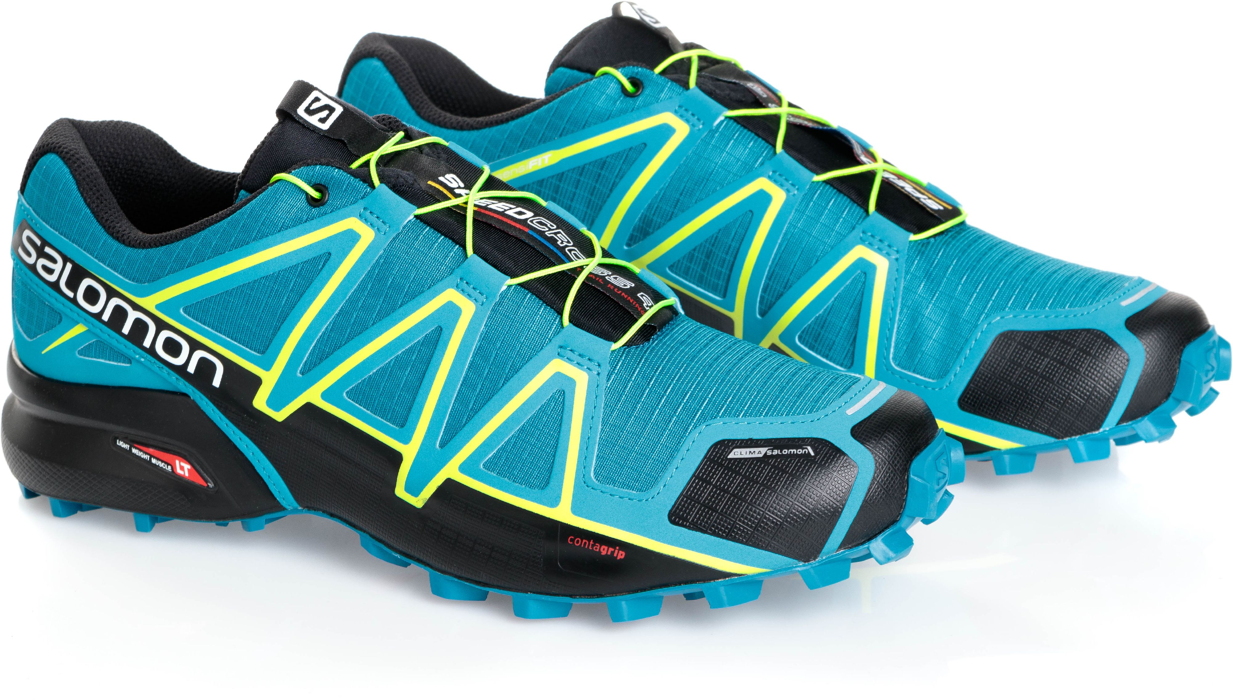 Salomon Buty meskie Speedcross 4 CS Mykonos Blue/Hawaiian Surf r. 42 (398425) 398425 Tūrisma apavi