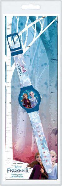 Pulio Frozen II DIAKAKIS analog watch close Rokas pulksteņi