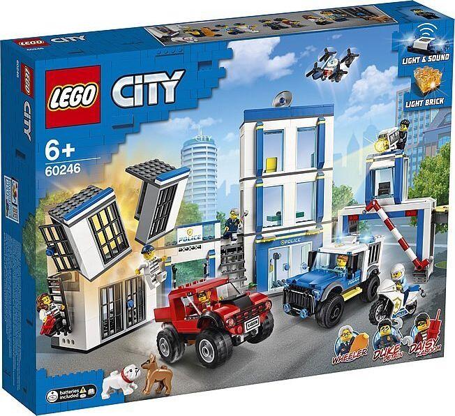 LEGO City 60246 Police station LEGO konstruktors