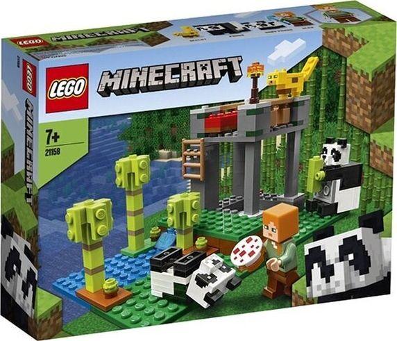 LEGO Minecraft 21158 The Panda Nursery LEGO konstruktors