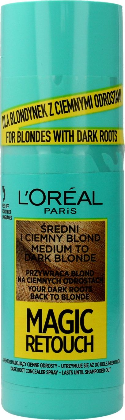 Loreal Magic Retouch Spray for regrowth retouching No. 7.3 Medium and Dark Blond 75ml