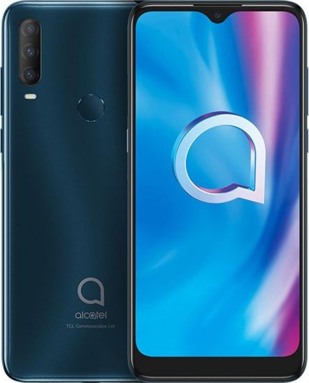 Smartfon Alcatel 1S 2020 32 GB Dual SIM Szary  (5028Y) 5028Y Mobilais Telefons
