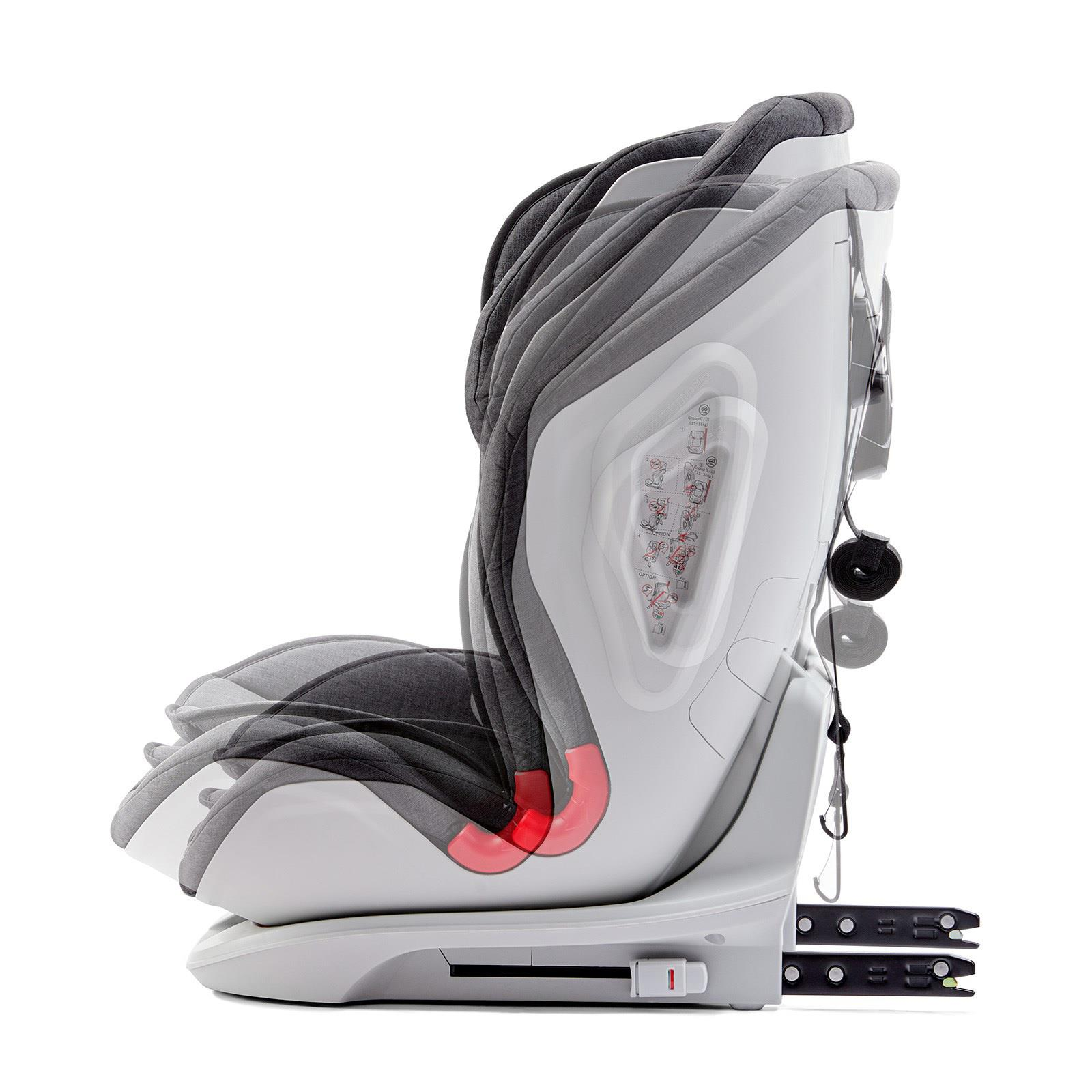 Car Seat Oneto3 9-36kg Isofix black auto bērnu sēdeklītis