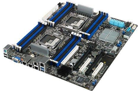 ASUS Z10PE-D16/4L (ASMB8-iKVM Down, Quad GbE) 2x LGA2011-3 pamatplate, mātesplate
