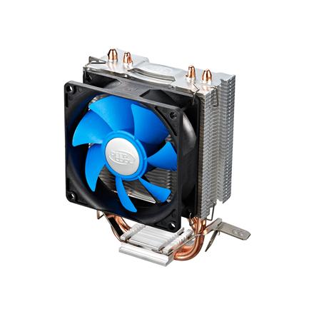 Deepcool  Ice Edge Mini FS; universal cooler, 2 heatpipes, Intel Socket LGA1156 /1155/ 775 and AMD Socket FM1/AM3+/AM3/AM procesora dzesētājs, ventilators