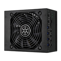 Silverstone Strider  Gold S 1500 W PSU (80 PLUS Gold)/Full- modular/ ATX v2.3/ Silent 135mm FAN/ Active PFC >95/ Black SilverStone Barošanas bloks, PSU