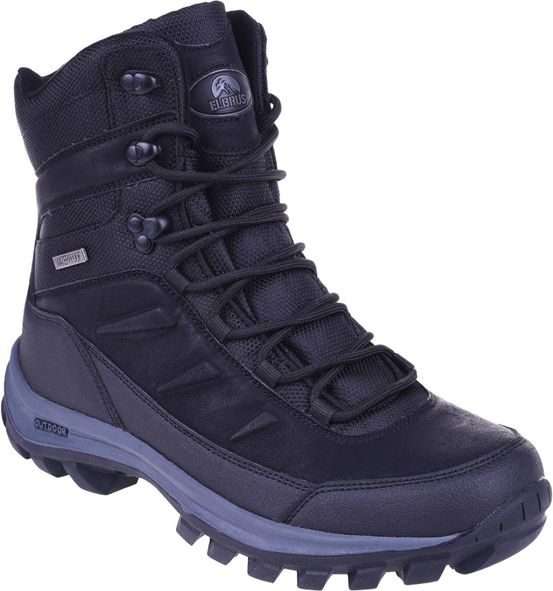 Elbrus Buty meskie Spike Mid WP Black/Dark Grey r. 42 5901979192077 Tūrisma apavi