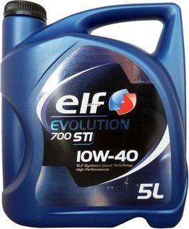 Olej silnikowy Elf OLEJ ELF 10W40 5L COMPETITION STI/EVOLUTION 700 STI / 229.1 / 505.00 / A3/B4 10W40 EVO STI 5L motoreļļa