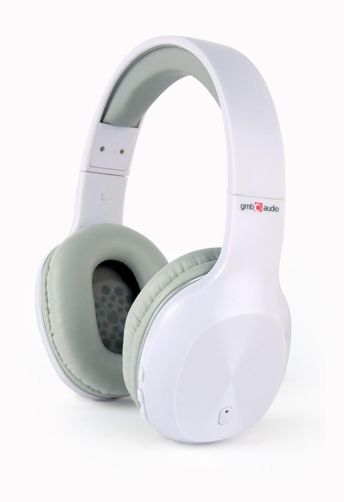 Stereo headphones Miami pearl-white austiņas