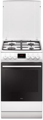 Amica 510GEH3.33ZpTaDpAW Gas-electric cooker Plīts