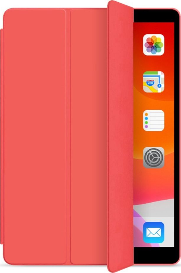 Tablet Case Smart Case Apple iPad 7 10.2 2019 Red planšetdatora soma