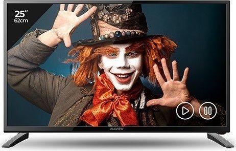 Allview 25ATC5000-F 25 (65cm), Full HD LED, DVB-T/C, Black, 1920 x 1080 LED Televizors