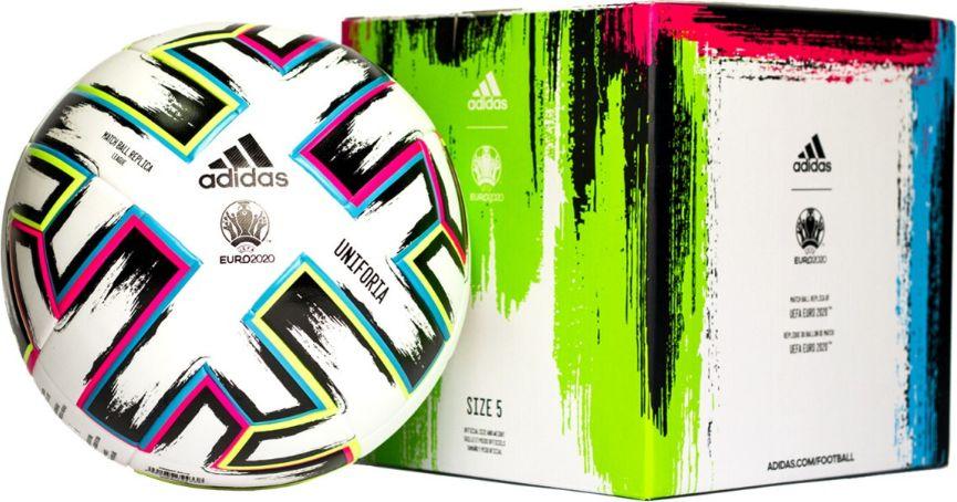 Adidas Soccer UNIFORIA Euro 2020 Match Ball Replica BOX bumba