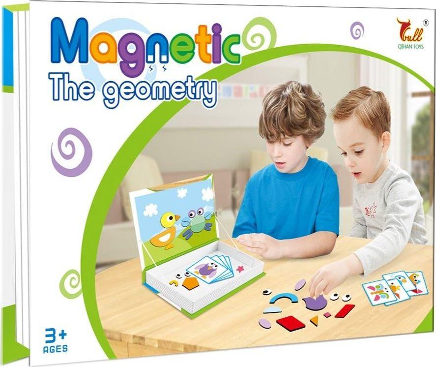 ASKATO Puzzle Magnetic - Geometric figures puzle, puzzle