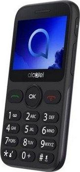 Telefon komorkowy Alcatel Alcatel 2019 srebrny 2019 Mobilais Telefons