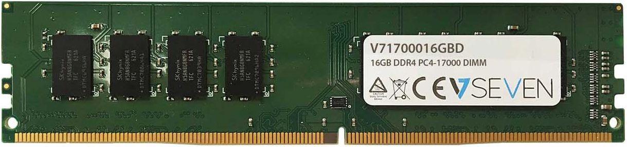 Atmiņa V7 DDR4  16GB,  2133MHz,  CL15 (V71700016GBD) operatīvā atmiņa