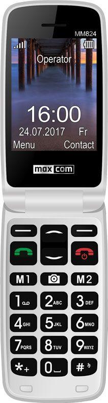 Maxcom MM824BB BLACK Poliphone/Big button Mobilais Telefons