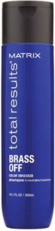 MATRIX TOTAL RESULTS Color obsessed BRASS OFF Shampoo neutralizing copper shades 300 ml Matu šampūns