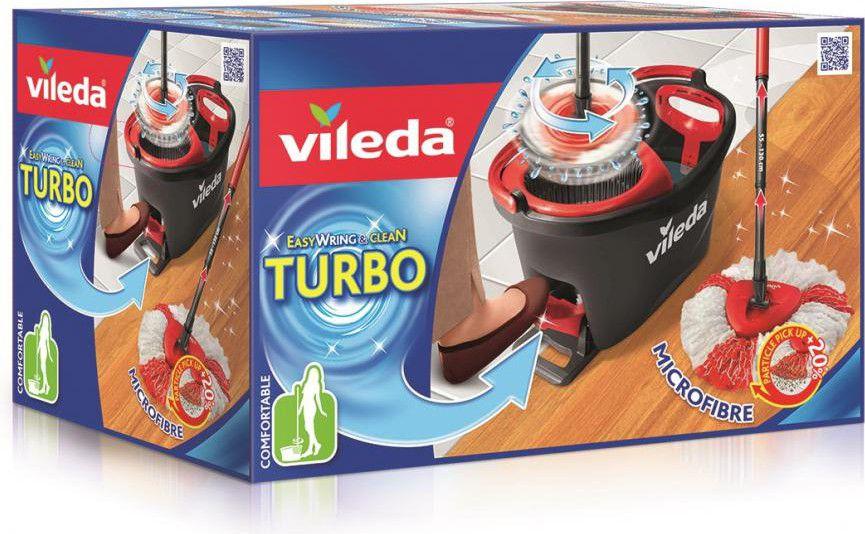 Vileda Mop Easy Wring and Clean Turbo 151153 Virtuves piederumi