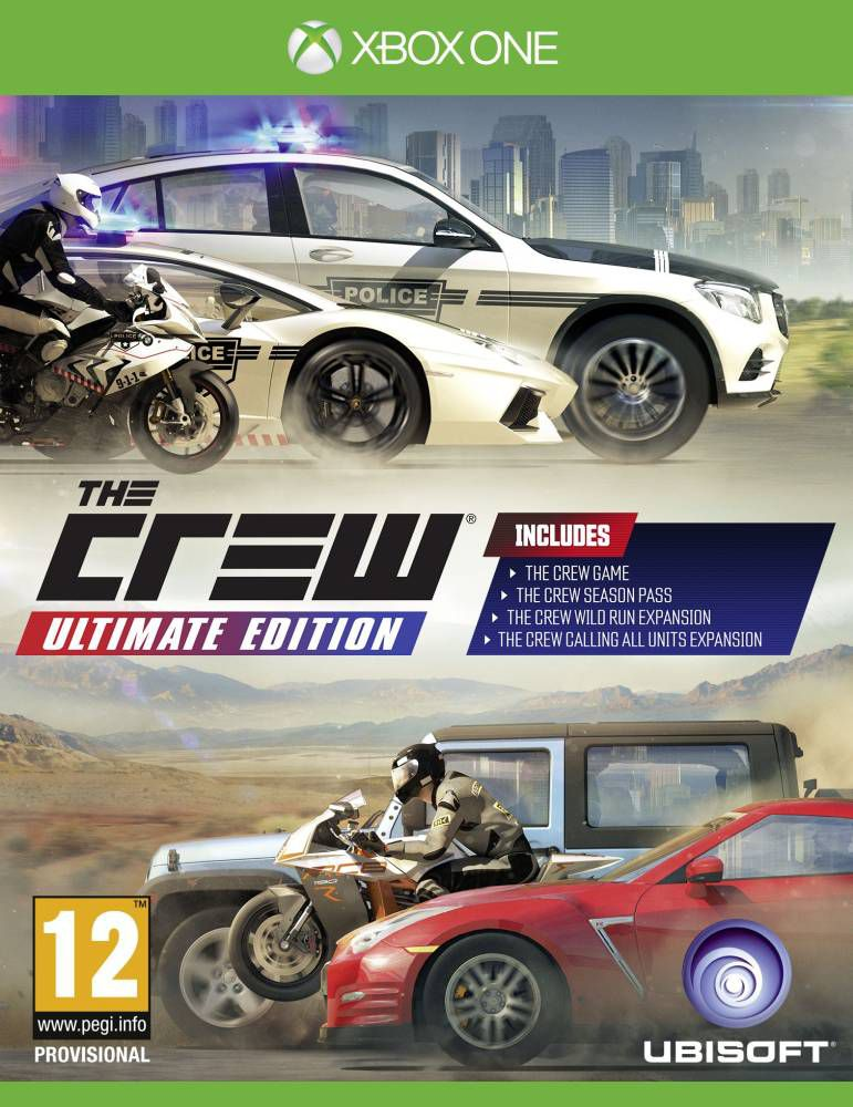 The Crew Ultimate Edition (XONE)