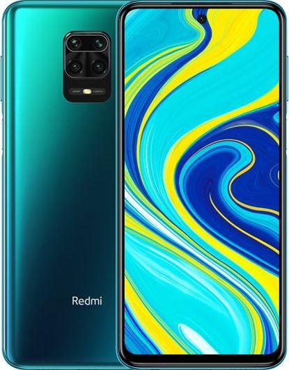 Smartfon Xiaomi Redmi Note 9S 64 GB Dual SIM Niebieski  (xiaomi_20200424195424) xiaomi_20200424195424 Mobilais Telefons