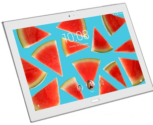 "Lenovo Tab4 10 Plus ZA2M - Android 7.0 (Nougat) - 16 GB eMMC - 10.1"" IPS (1920 x 1200) - microSD slot - white Planšetdators"