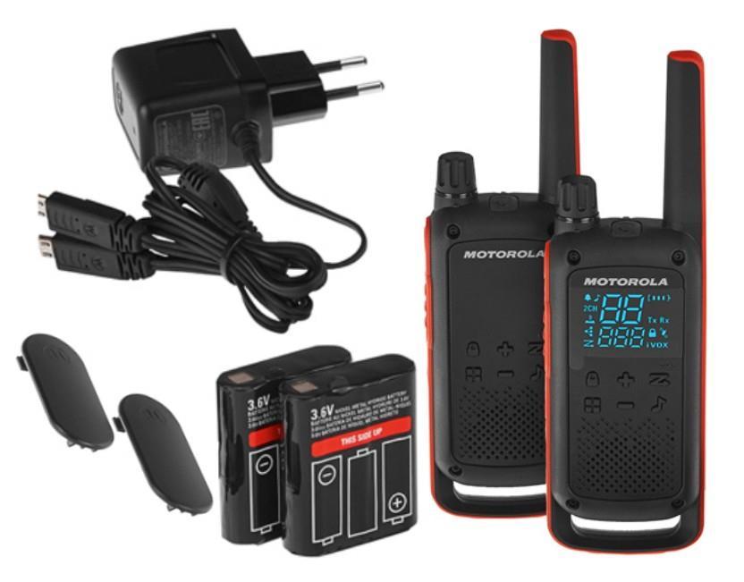 Motorola TLKR T82 Duo rācijas