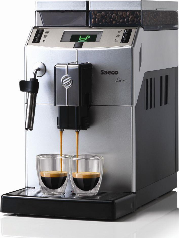 Coffee machine Saeco RI9841/01 Lirika Silver Plus | inox Kafijas automāts