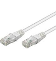 Goobay CAT 5e patch cable, U/UTP RJ45 male (8P8C), RJ45 male (8P8C), 15 m, White 4040849685033 tīkla iekārta