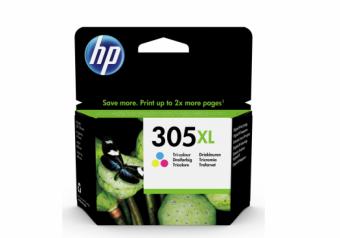 HP 305XL High Yield Tri-color Original kārtridžs