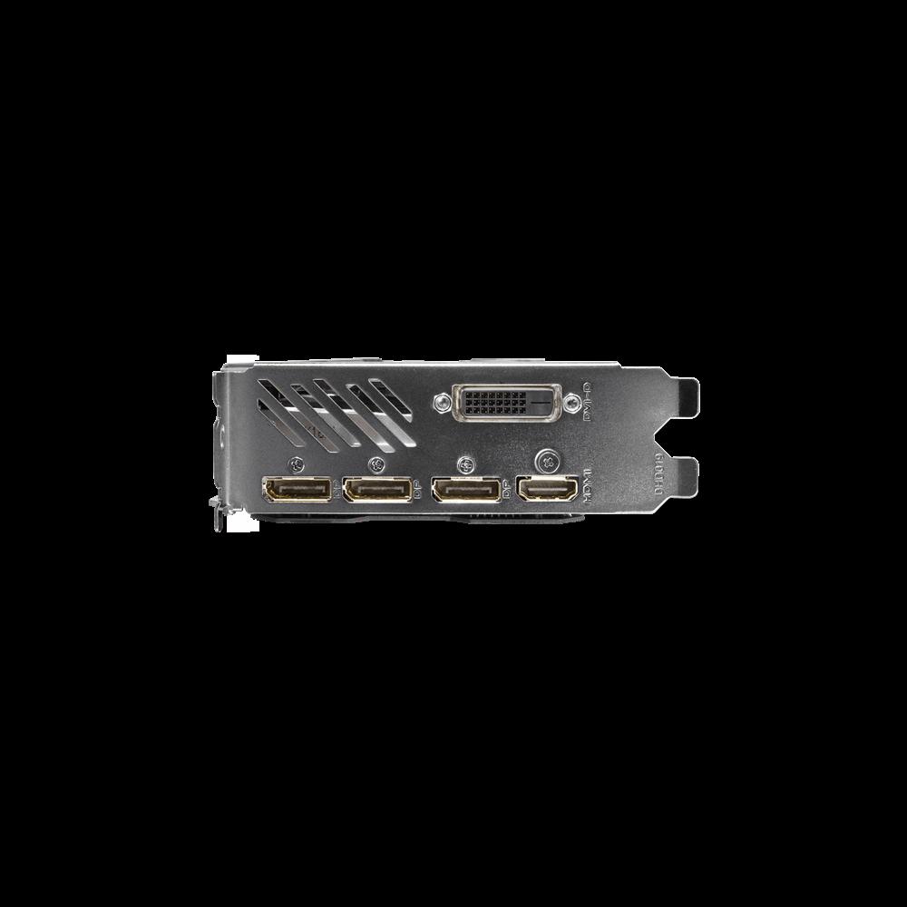 Gigabyte GeForce GTX 1070, 8GB GDDR5 (256 Bit), HDMI, DVI, 3xDP video karte
