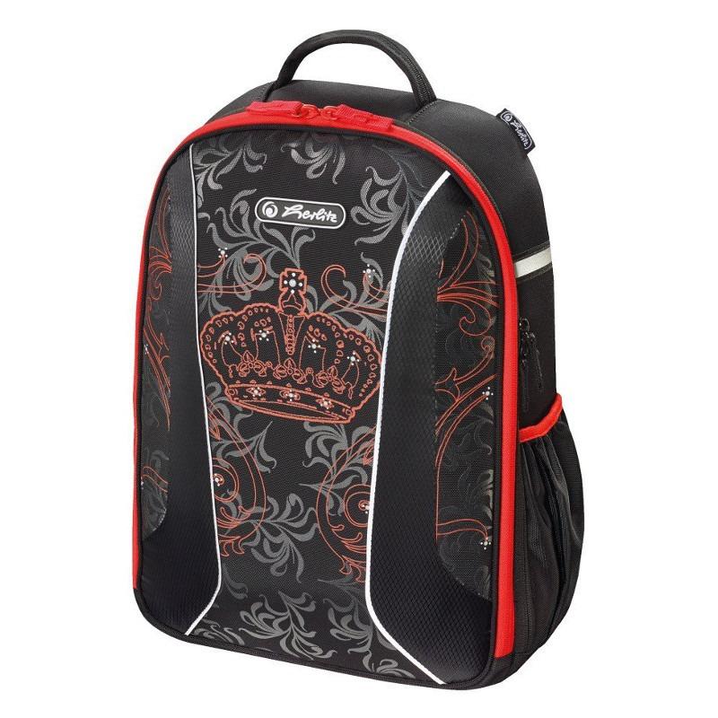 Herlitz Airgo Royalty - black / red - 50015085 Skolas somas un penāļi