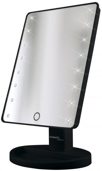 Scarlett Mirror LED black SC-MM308L05 Spogulis