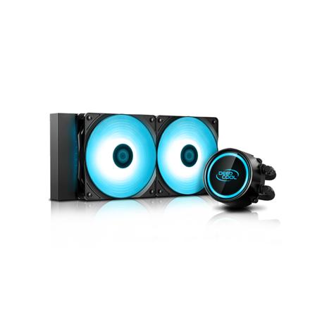 Deepcool Liquid Cooler GAMMAXX L240 V2 procesora dzesētājs, ventilators