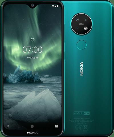 Nokia 7.2 Dual SIM 64GB TA-1196 Green Mobilais Telefons